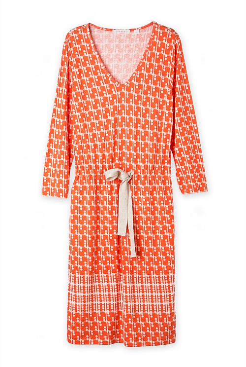 Checked Spot Dress