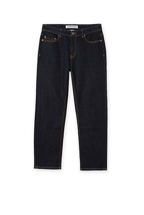 Authentic Crop Straight Leg Jean
