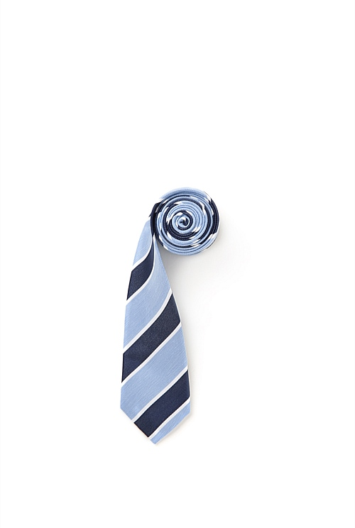 Bordered Stripe Tie