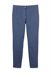 Linen Cotton Twill Pant