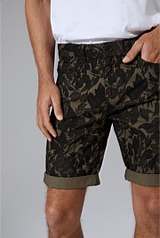 Five Pocket Camo Short
