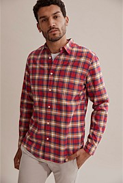 Regular Ombre Check Shirt